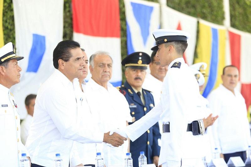 Aureoles Conejo reconoce el trabajo de las Fuerzas Armadas de México y llama a la construcción de un frente común que inhiba a quienes vulneran la paz pública