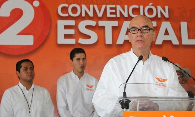 Delgado Rannauro adelantó que la Presidencia de la República será ganada con estrategia y que es un hecho que el PRI saldrá de Los Pinos (FOTO: MARIO REBOLLAR)