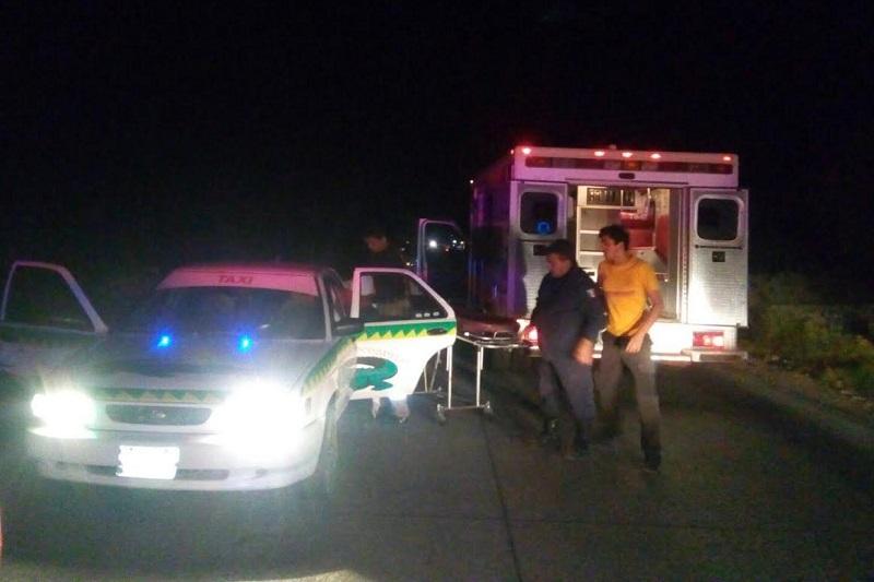 La mujer y su bebé fueron trasladados al Hospital General de Zitácuaro para su revisión médica