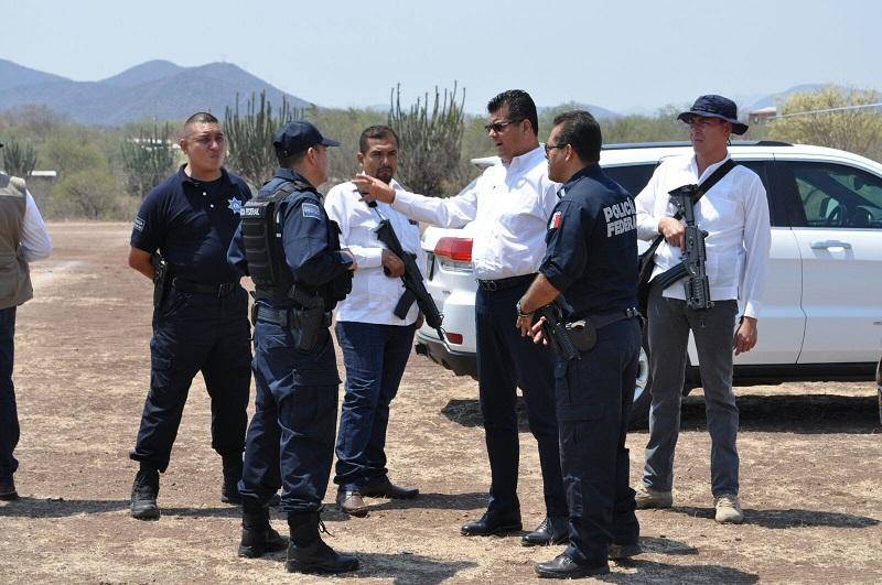 Corona Martínez refrendó que brindar la seguridad es un compromiso del Gobierno del Estado, por lo que también se acordó reforzar la seguridad en el tramo carretero de Pedro Barajas – Las Cañas, en la Autopista Siglo XXI