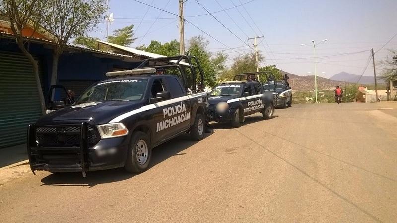 El lugar donde se registró el enfrentamiento fue asegurado por personal policial en espera de que personal especializado realice las actuaciones correspondientes