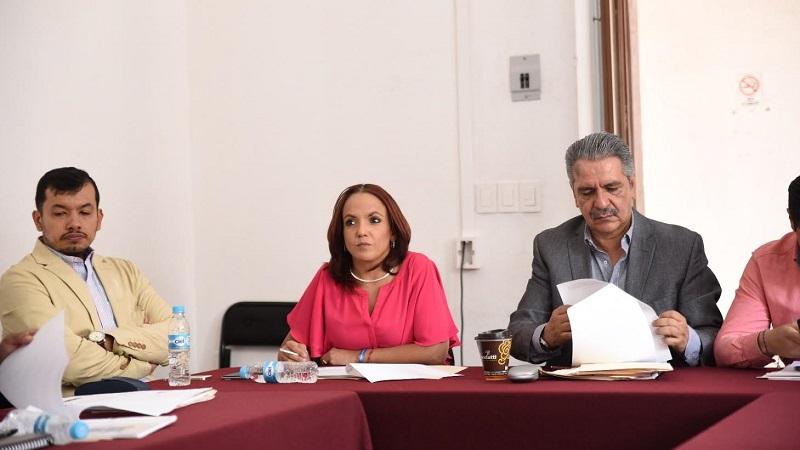 Villanueva Cano participó en la reunión de la Comisión de Gobernación en el Congreso del Estado para analizar la iniciativa de reforma a la Ley Orgánica de la Administración Pública del Estado