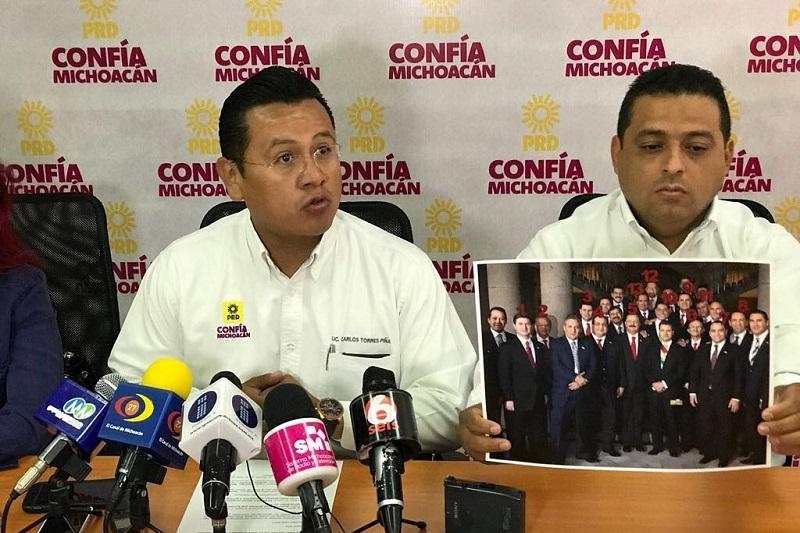 Torres Piña invitó a los diputados locales a apresurar la armonización de las leyes estatales para su implementación en Michoacán, antes de la fecha límite que es el próximo 19 de julio