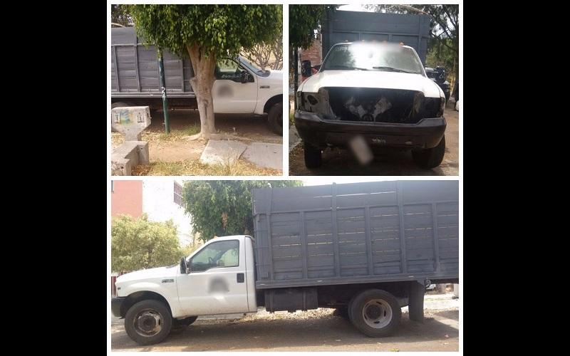 Los vehículos, madera, armamento y droga asegurada fueron puestos a disposición de la autoridad correspondiente