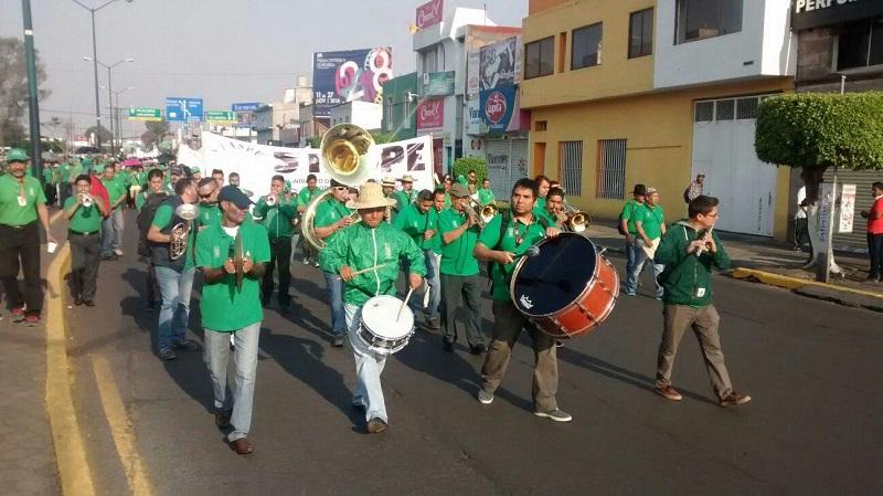 Las movilizaciones se realizaron sin novedad, y pasadas las 13:00 horas ya había quedado libre la Avenida Madero