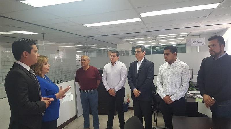 Como director de Planeación y Capacitación rindió protesta Daniel Mora Ortega, anterior director del Pleno y quien sustituye en el cargo a Eduardo Ponce de León Ballesteros