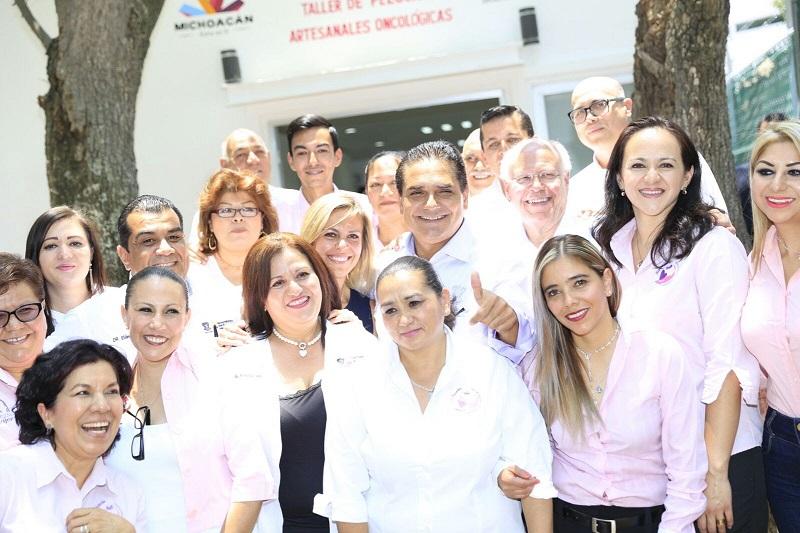 El secretario de Salud, Narro Robles, reconoció la generosidad, entrega y disposición del Gobernador michoacano para apoyar esta noble acción