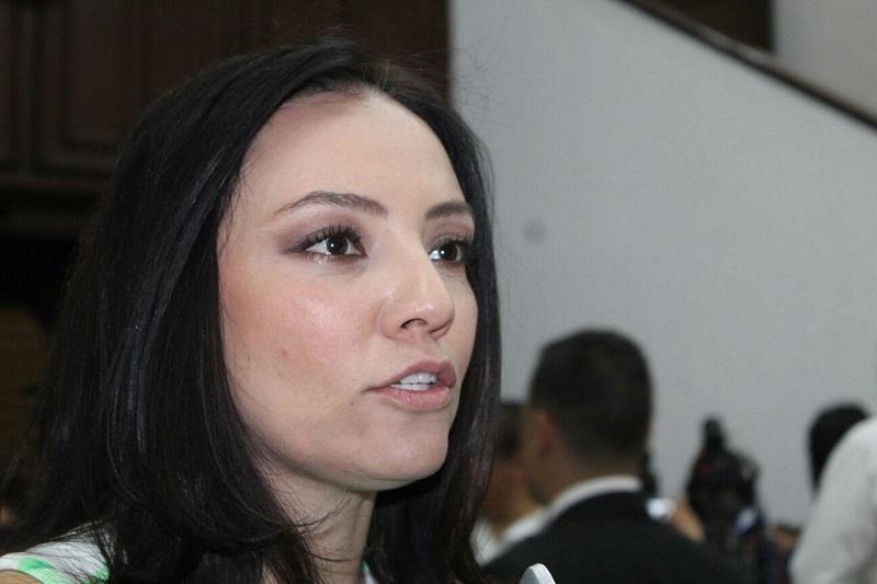 La diputada local recalcó que la mayor parte de los recursos en la materia son del orden federal, ya que al gobierno federal realmente la preocupa Michoacán y por ello lo atiende (FOTO: MARIO REBOLLAR)