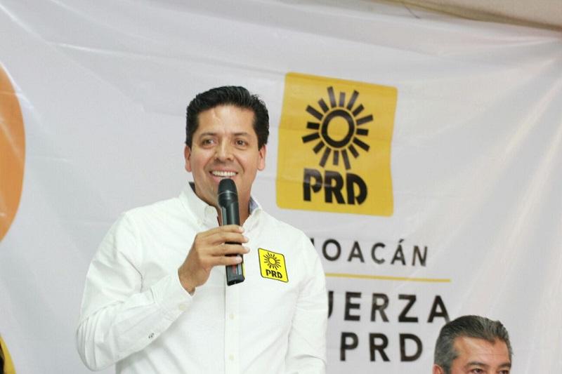 Antonio García Conejo abogó por la unidad y la claridad dentro del PRD