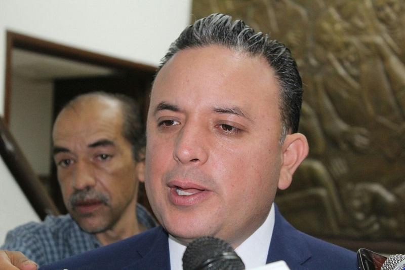 En el tema de seguridad, Quintana Martínez llamó a pedir resultados al Ayuntamiento de Morelia (FOTO: MARIO REBOLLAR)