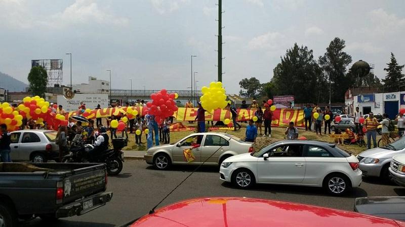 Este mediodía la escuadra michoacana fue despedida por una caravana al salir desde el hotel de concentración hasta el Aeropuerto de Morelia