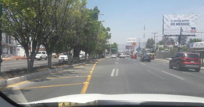 Las largas filas que anteriormente se hacían desde una tienda de autoservicio por los tres carriles que había anteriormente, ya son más cortas y eso permite un mejor avance para quienes se dirigen hacia la salida a Pátzcuaro