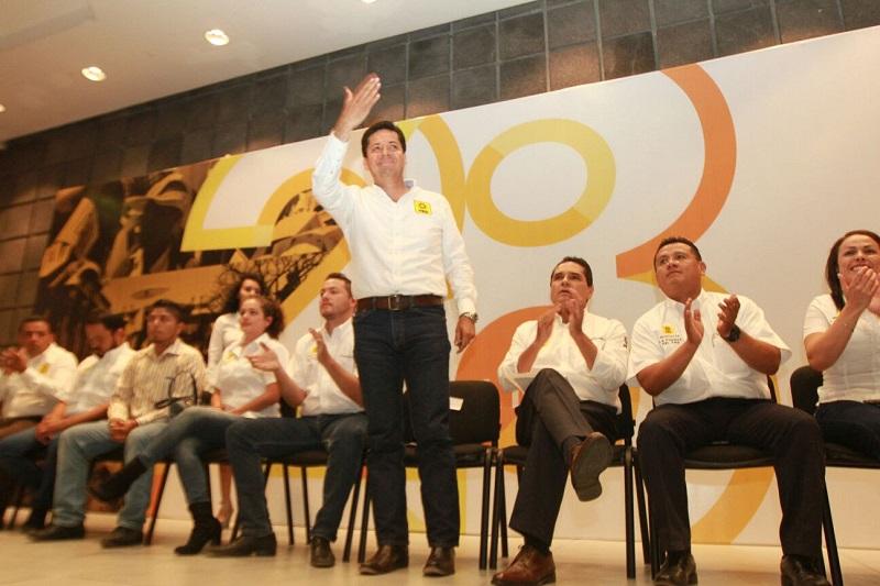 """García Conejo hizo un llamado a los perredistas: """"Qué no nos distraigan, qué no minen nuestros esfuerzos, porque el PRD sigue estando fuerte"""""""