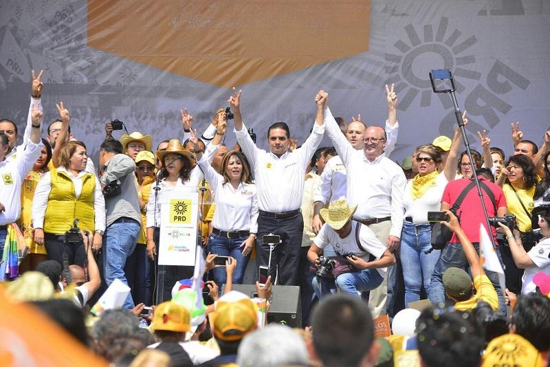 """El PRD definirá la elección de 2018; """"altamente probable, que el próximo Presidente de la República salga de nuestro partido"""", enfatiza en reunión con militantes de Morelos"""