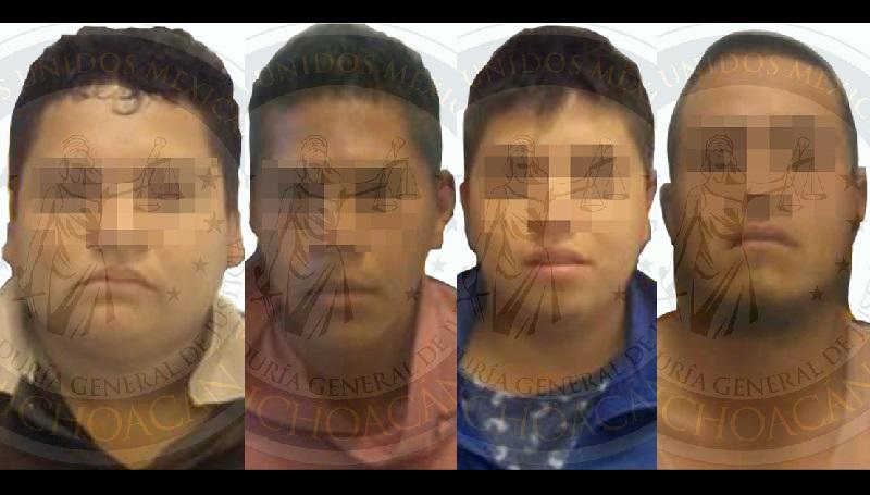 Se logró conocer que los ahora detenidos llevaron a la víctima a un hotel ubicado sobre la carretera Morelia-Pátzcuaro, donde la mantuvieron en cautiverio, mientras tanto continuaron realizando llamadas a los familiares para que cumplieran con sus exigencias
