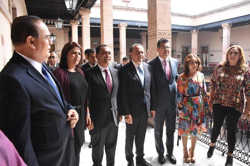 Legisladores se reunieron con titulares de dependencias gubernamentales para conocer avances en la implementación de la Alerta de Violencia de Género en Michoacán