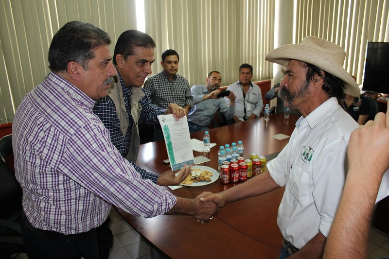 Alcanza Michoacán 21 certificaciones, cinco de ellas de tipo internacional; entregan certificado de cadena de custodia a empresa forestal