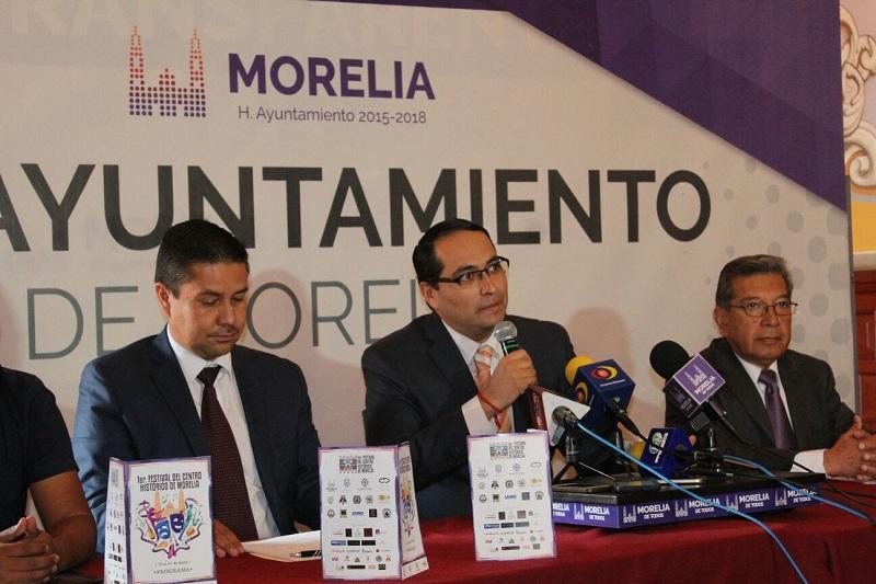 Alrededor de 115 actividades culturales gratuitas se tendrán en el marco de esta actividad en las plazas y jardines públicos de Morelia