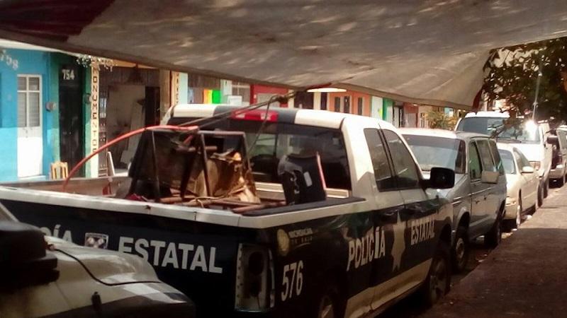 Es posible que las unidades fueran parte de los lotes de vehículos en desuso que recientemente fueron subastados, pero siguen balizadas como patrullas (FOTOS: MARIO REBOLLAR)
