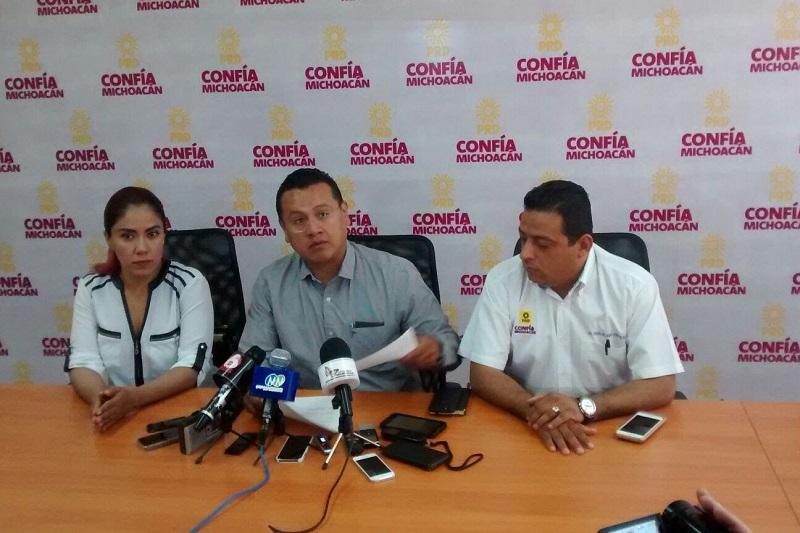 Al exhortar al Gobierno de Michoacán los legisladores incurren en conflicto de interés ya que la familia Orihuela es propietaria de huertas de aguacate, berries y arándano: Torres Piña
