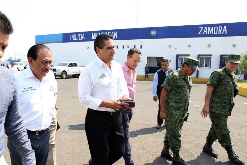 El mandatario estatal dejó en claro que el único propósito por el que los tres órdenes de gobierno trabajan de manera conjunta, es para mejorar la seguridad y desarrollo de las y los michoacanos