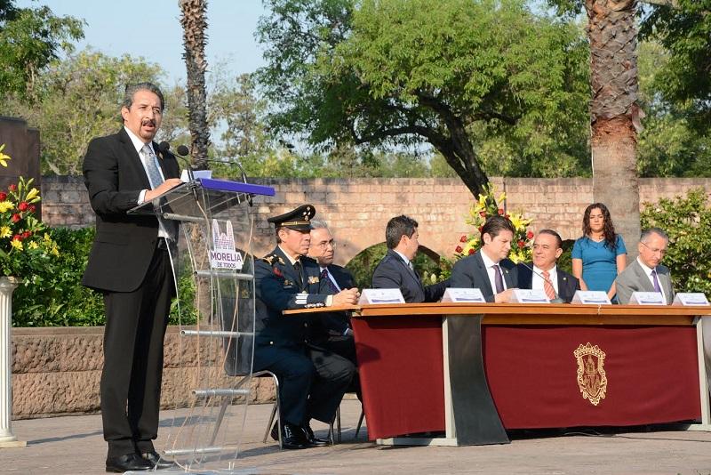 La ciudad de Morelia distingue a la Casa de Hidalgo con la Presea Generalísimo Morelos 2017