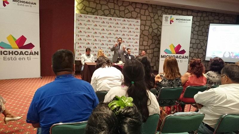 La inauguración estuvo a cargo del secretario de Innovación, Ciencia y Desarrollo Tecnológico, José Luis Montañez Espinosa, en representación del gobernador Silvano Aureoles