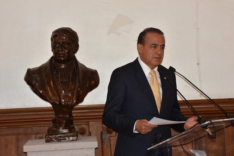 También se requiere fortalecer de forma permanente las instituciones de seguridad pública, procuración e impartición de justicia, indicó Sigala Páez