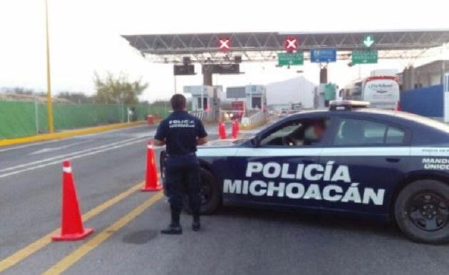 Los elementos policiales realizan recorridos en carreteras y brechas del estado, así como puestos de revisión de vehículos y personas