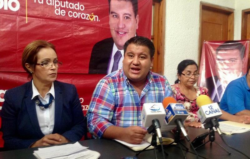 """""""Es una sin razón que nuestra dirigencia nacional esté buscando una alianza pragmática, mientras la alianza con las fuerzas progresistas y de izquierda sigue abierta"""", argumentó Puebla Arévalo"""