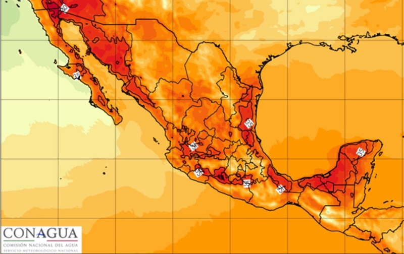 Por lo anteriormente expuesto, es preciso pronunciar las siguientes recomendaciones ante la presencia de temperaturas altas, en algunos municipios incluso mayores a los 40 grados centígrados