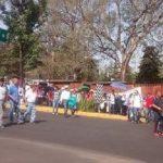 Los manifestantes exigen el pago de bonos pendientes, así como los subsidios para los CENDIS; también protestan contra las reformas estructurales y la reforma educativa; y, exigen la liberación de presos políticos