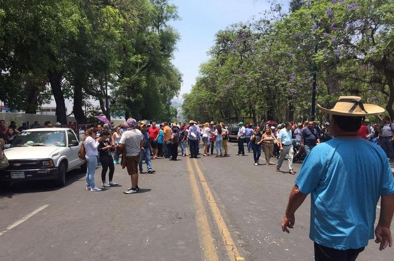 Se manifestaron este miércoles en Morelia antorchistas, normalistas y la CNTE