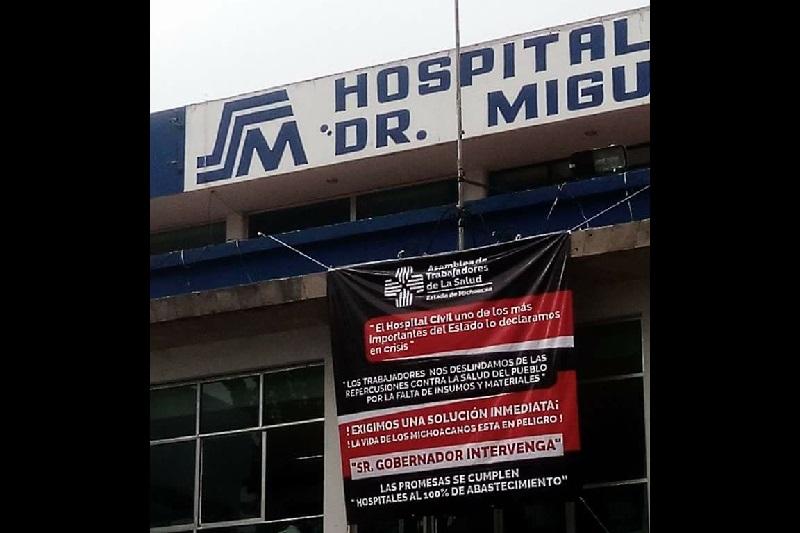 Persiste la queja por el insuficiente abasto en el Hospital General Doctor Miguel Silva de la capital michoacana