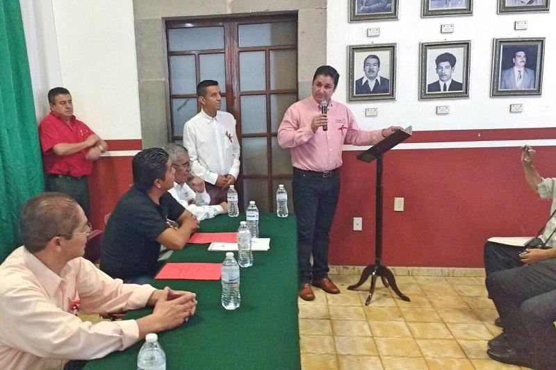 Romero Hernández dijo que a lo largo de este primer año, se han logrado importantes avances en la conformación y consolidación de este colectivo de cronistas michoacanos