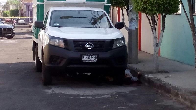 Al resistirse al asalto lo delincuentes le dispararon en varias ocasiones, quedando la persona tirada en la cinta asfáltica sobre la calle Jerónimo de Mendieta, de la colona Lázaro Cárdenas