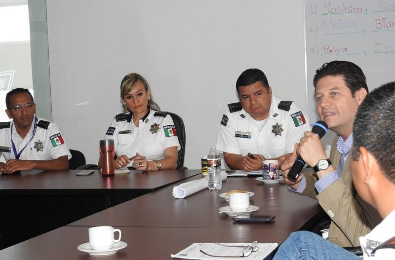 Alfonso Martínez, evaluó los resultados en cada uno de los sectores que forman parte de la Policía de Morelia, identificando las zonas prioritarias así como medir el número de detenciones efectuadas por los uniformados municipales