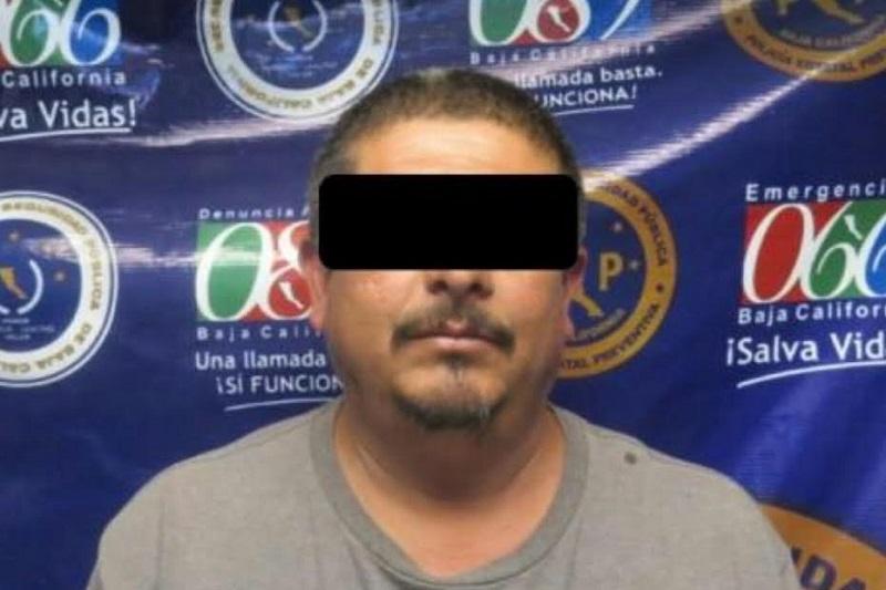 """El detenido fue identificado con el nombre de José Marcos """"N"""" apodado """"El Michoacano"""" de 38 años de edad originario de ciudad Lázaro Cárdenas Michoacán"""