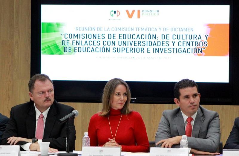 El diputado Marco Polo Aguirre subrayó el Partido Revolucionario Institucional debe ser garante de que se promueva la cultura sin distingos, ni discriminación, incluyente y equitativa