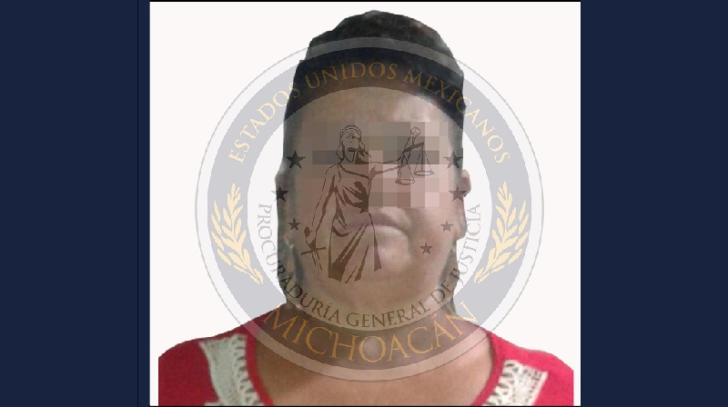 Detienen a mujer por despojo de un predio en Uruapan