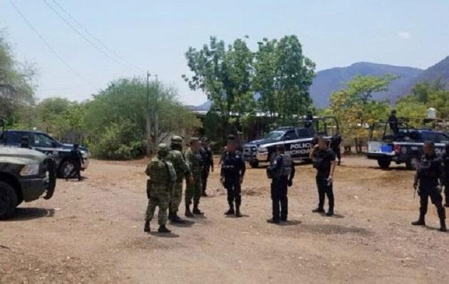 La vigilancia en La Huacana y Múgica se mantiene, en coordinación con las autoridades federales, para brindar seguridad y tranquilidad a la población