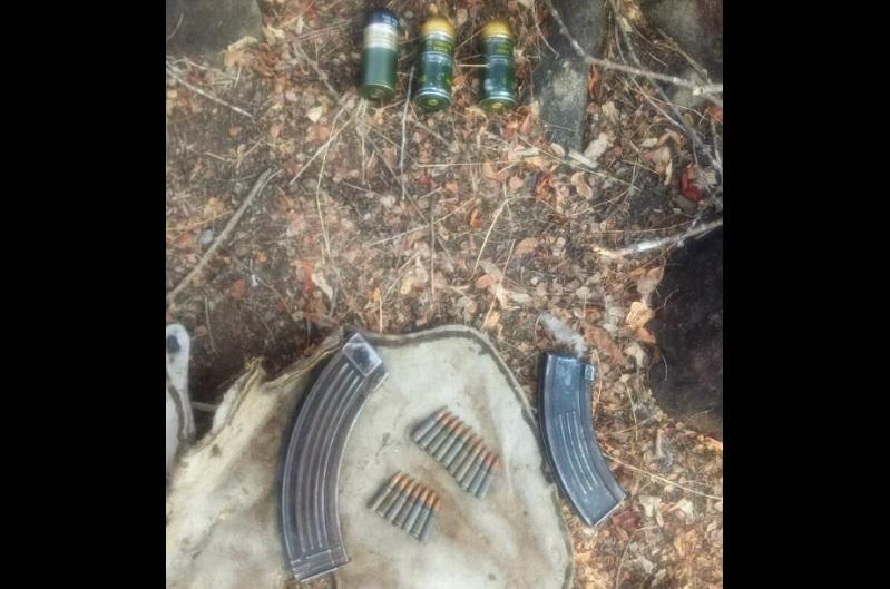 Las granadas, cargadores y cartuchos fueron puestos a disposición del Ministerio Público Federal para continuar con la carpeta de investigación