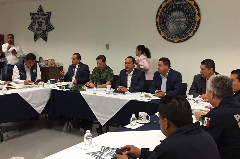 López Solís manifestó que no se bajará la guardia para consolidar las capacidades de las instituciones y estabilizar de manera consistente las condiciones de seguridad en beneficio de la sociedad uruapense