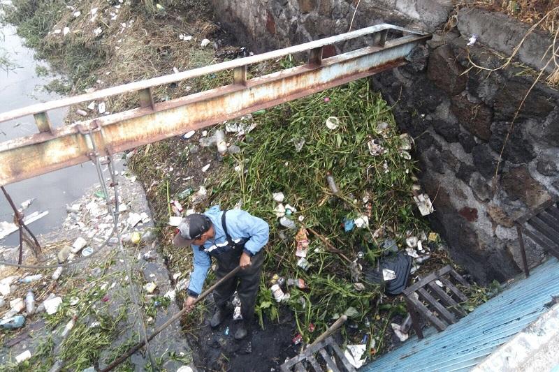 La principal problemática que causa la basura son los encharcamientos con afectaciones directas a la ciudadanía que vive en zonas bajas de Morelia