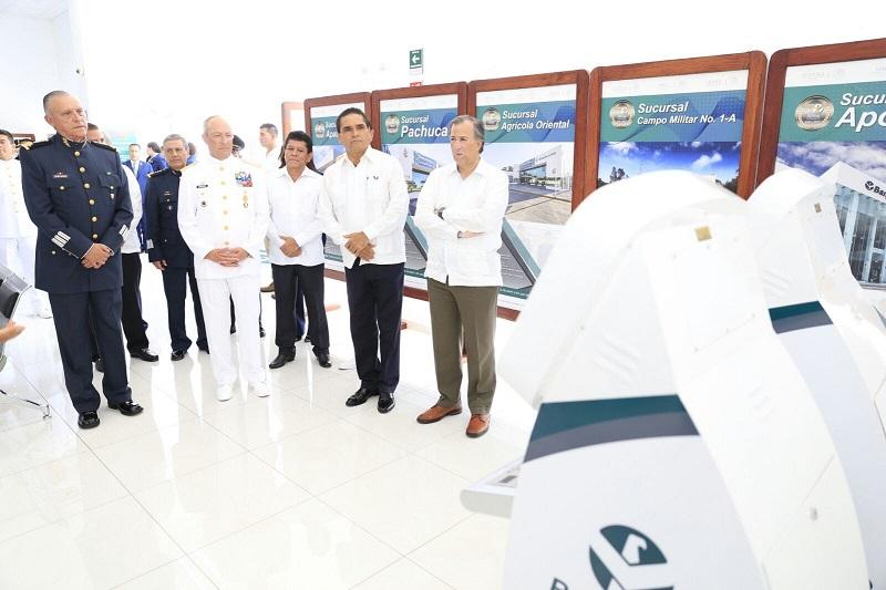 El director de Banjército, René Trujillo Miranda, reconoció la disposición del gobernador Silvano Aureoles para consolidar esta apertura
