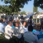 García Avilés acudió en representación del Ejecutivo estatal a celebrar el Día de la Marina en la Capitanía de Puerto del Lago de Pátzcuaro