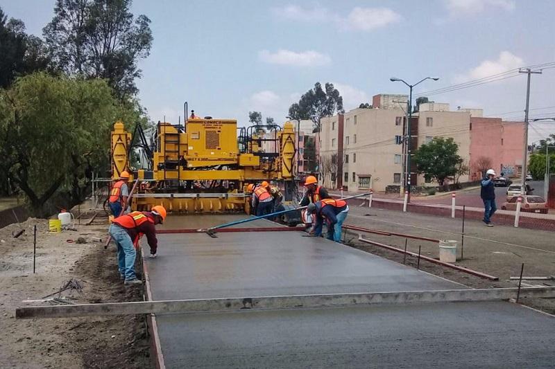 Con 27 mdp, la SCOP realiza la continuación de la primera etapa de la transformación del Libramiento de la capital michoacana en un Circuito Interior de Movilidad continua