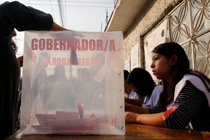 En el caso de Nayarit el cierre de casillas se realizó a las 19:00 horas (tiempo del centro de México), ya que hay una hora de diferencia