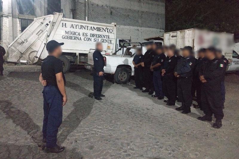 La noche del viernes los agentes policiales regresaron al municipio de Múgica y desde este sábado se encuentran laborando de manera normal para brindar las garantías de seguridad en el municipio