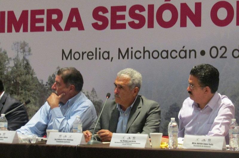 Al respecto, el titular de la Cofom, Roberto Pérez Medrano, destacó el compromiso de la administración que encabeza el gobernador Silvano Aureoles para lograr un pleno equilibrio en torno a la protección y conservación de los recursos forestales